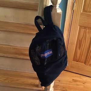 🏊‍♂️JANSPORT MESH BACKPACK